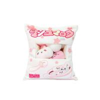 食梦貘搞怪滑稽等身卡通小猪玩具靠抱枕