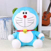 哆啦A梦公仔叮当猫蓝胖子毛绒玩具玩偶机器猫大号圣诞节生日礼物 微笑款 65厘米(送32CM抱枕)