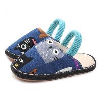 春季宝宝拖鞋男童居家防滑软底儿童室内鞋