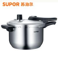 【当当自营】Supor 苏泊尔 蓝眼不锈钢压力锅24cm  YW24S1