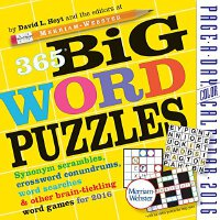 365 Big Word Puzzles Page-A-Day?Calendar