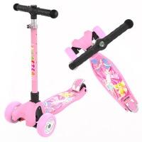 3-6-14岁小孩儿童滑板车滑滑车溜溜车三四轮折叠闪光单脚踏板车