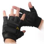 男式手套半指自行车战术手套露指手套训练半截手套