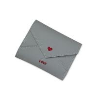 钱包女短款韩版小清新折叠学生可爱迷你时尚个性零钱包