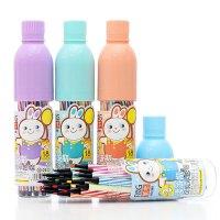 儿童可洗水彩笔12色24色36色彩色笔画画笔小学生文具套装笔
