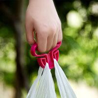 2只装便携提菜器拎菜器买菜购物防勒手提袋器塑料袋省力拎袋提物器