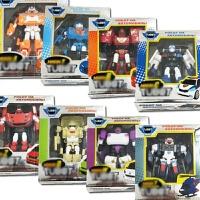 托宝兄弟合体 变形金刚玩具变形机器人变形汽车飞机玩具礼物