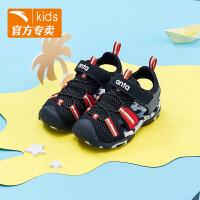 安踏童鞋 男童沙滩凉鞋2019夏季新款沙滩鞋官网正品学生儿童凉鞋