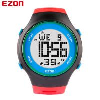 宜准EZON电子表手表男运动表防水儿童表多功能户外休闲手表男士手表腕表L008B11