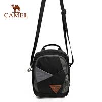 骆驼户外男女款斜单肩挎包 3L单肩斜挎手提两用肩包