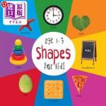 【中商海外直订】Shapes for Kids Age 1-3 (Engage Early Readers: Chil