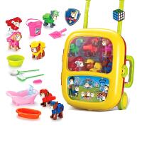 厨房手提旅行箱 儿童过家家小医生玩具套装女孩厨房切水果工具旅行李手拉杆箱男孩