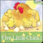 【预订】Five Little Chicks 9781442407220