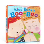 英文原版进口绘本 KISS BABY'S BOO-BOO(Karen Katz Lift-the-Flap Books