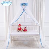 开门式宝宝落地蚊帐可调节婴儿床蚊帐儿童蚊帐通用带支架