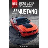 【预订】Ford Mustang Red Book 1964 1/2-2015: Specifications, Opt