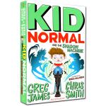 麻瓜小子3 英文原版 Kid Normal and the Shadow Machine 麻瓜小子和影子机器 蓝边带插