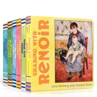 Mini Masters 小小艺术家系列6册 英文原版艺术世界名画纸板书 儿童启蒙图画艺术百科书 亲子阅读 Dream