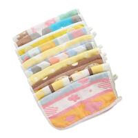 婴儿喂奶巾儿童小毛巾宝宝洗脸方巾婴儿口水巾棉纱布手帕
