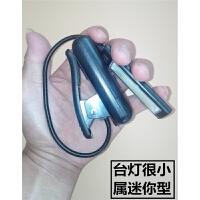 电池夹子台灯可装用放上换安7号护眼学生宿舍寝室调光充电