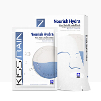 KISSRAIN/珍姿润玻尿酸面膜补水保湿提亮肤色清洁收敛毛孔