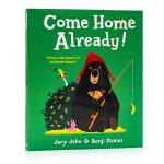 英文原版绘本 大熊与鸭子系列:已经回家了Come Home Already 获奖名家绘本Benji Davies 插画