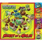 【预订】Heart of a Ninja (Teenage Mutant Ninja Turtles) 9781101