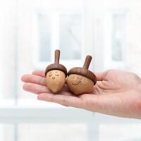 木质手动旋转小陀螺儿童幼儿园男孩女孩木制驼螺传统玩具解压减压