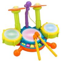 儿童玩具鼓打乐器 架子鼓男孩音乐电动爵士鼓女孩宝宝1-2-3岁玩具