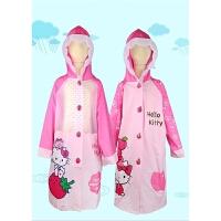 儿童雨衣女童雨披带书包位加厚小孩幼儿小学生雨衣