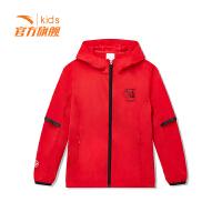 【3折价131.7】安踏童装男童梭织运动上衣儿童运动服外套35915641