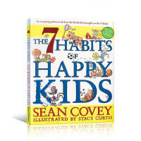 英文原版 7 Habits of Happy Kids 高效能儿童的七个习惯 Sean Covey