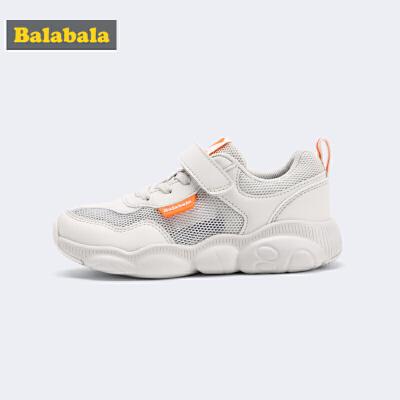 巴拉巴拉儿童运动鞋男小童鞋子新款夏季小熊鞋跑步鞋透气童鞋