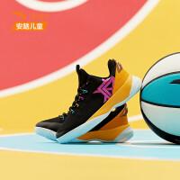 安踏童鞋男儿童篮球鞋要疯2019新童鞋中大童运动鞋学生31931103