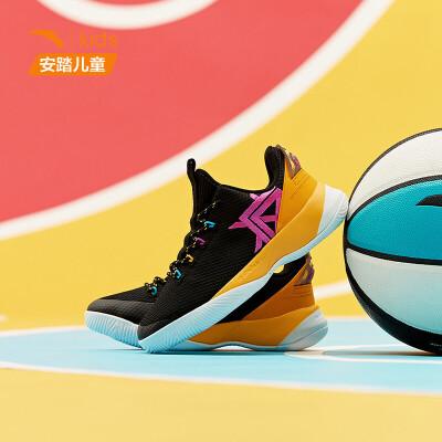 【到手价279】安踏童鞋男儿童篮球鞋要疯2019新童鞋中大童运动鞋学生31931103
