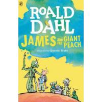 英文原版 飞天巨桃历险记(詹姆斯与大仙桃) James and the Giant Peach 罗尔德达尔系列 8-1