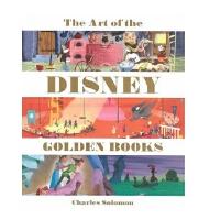现货 迪士尼艺术设定画集 英文原版 The Art of the Disney Golden Books (英语) 精
