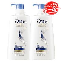 【】多芬(Dove)密集滋养修护洗发乳650ml 买一赠一