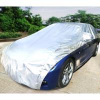 汽车车衣半罩防晒隔热遮阳挡前挡风玻璃遮阳板帘遮光遮阳伞车窗帘