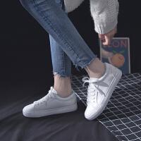 平底小白鞋女百搭基础街拍板鞋春季2019网红女款鞋子