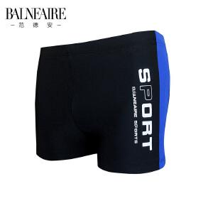 范德安性感低腰专业运动平角男士泳裤 沙滩裤大码男士游泳衣