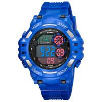 多功能防水登山手表户外运动手表男士电子表 蓝色