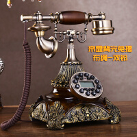 安斯艾尔座机时尚仿古电话机欧式复古座机美式创意老式电话抖音
