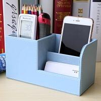 笔筒创意时尚多功能办公室收纳盒桌面文具用品韩国小清新可爱学生