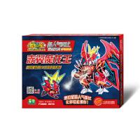 奥拉星超人气亚比造型玩具(升级版)―赤翼魔龙王(无需胶水、剪刀的3D立体益智手工拼插),广州百田信息科技有限公司,江苏