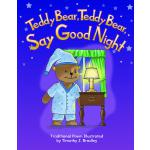 【预订】Teddy Bear, Teddy Bear, Say Good Night Big Book 9781493