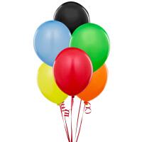 孩派/生日用品/装饰用品/装饰布置/乳胶气球/10寸纯色气球/6个