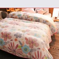 铺床毛毯垫被子珊瑚绒毯子加厚加绒毛绒冬季法兰绒床单人宿舍单件k