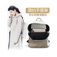 双肩背包女笔记本电脑包苹果联想戴尔13.3寸14寸15.6寸商务手提