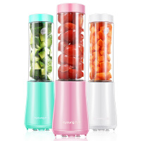 九阳(Joyoung)榨汁机 迷你便携果汁机 多功能料理机 双杯果汁杯 生日礼物送女友 L3-C1粉